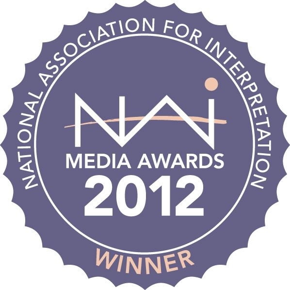 2012 NAI Award for first place for Wayside Exhibits in the Media Awards Competition