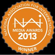 1st Place Digital Media Award for The Lion's Storyteller